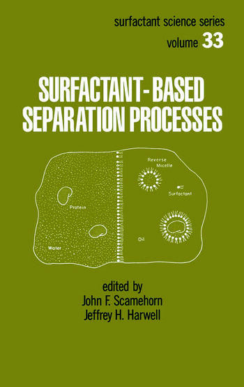 Surfactant - Based Separation Processes book cover