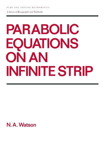 Parabolic Equations on an Infinite Strip book cover