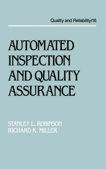 Automated Inspection and Quality Assurance book cover
