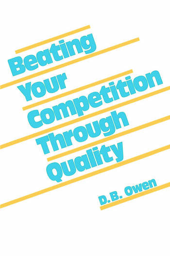 Beating Your Competition Through Quality book cover