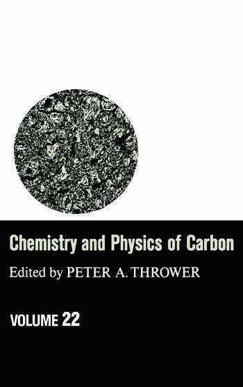 Chemistry & Physics of Carbon Volume 22 book cover
