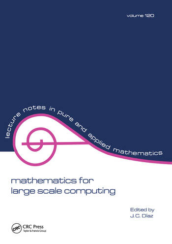 Mathematics for Large Scale Computing book cover