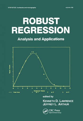 Robust Regression Analysis and Applications book cover