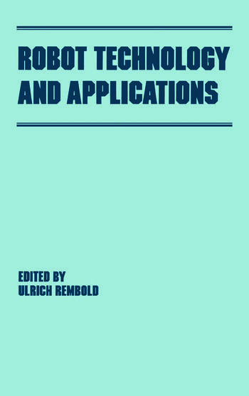 Robot Technology and Applications book cover