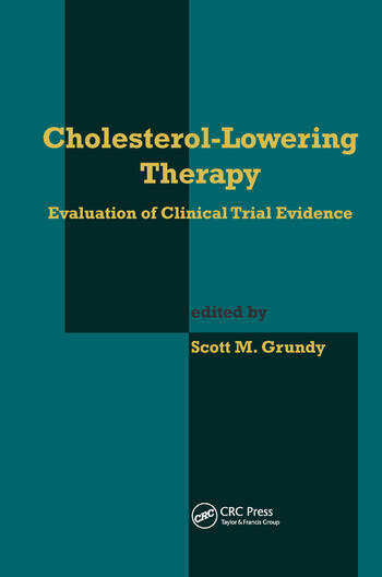 Cholesterol-Lowering Therapy Evaluation of Clinical Trial Evidence book cover