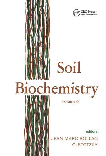 Soil Biochemistry Volume 6: Volume 6 book cover