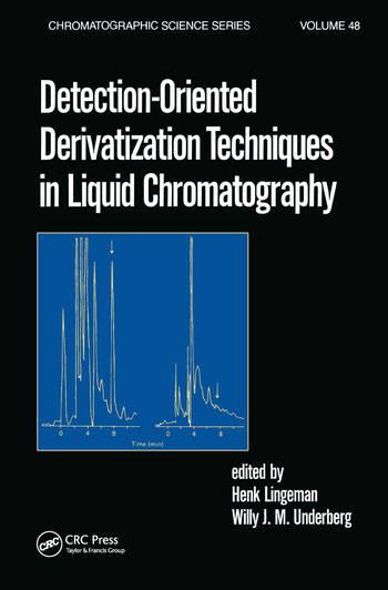 Detection-Oriented Derivatization Techniques in Liquid Chromatography book cover