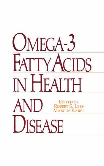 Omega-3 Fatty Acids in Health and Disease book cover