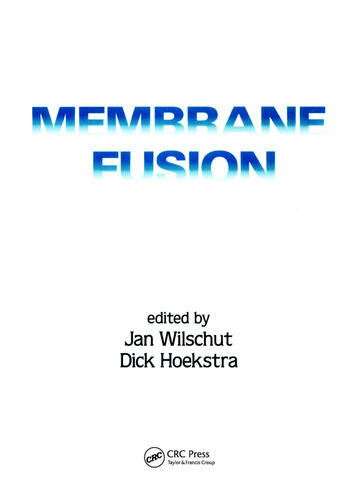 Membrane Fusion book cover