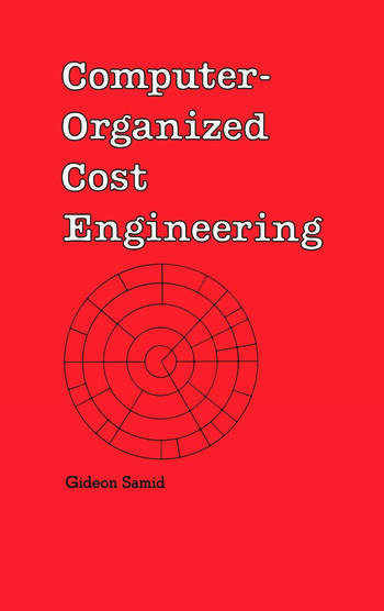 Computer-Organized Cost Engineering book cover