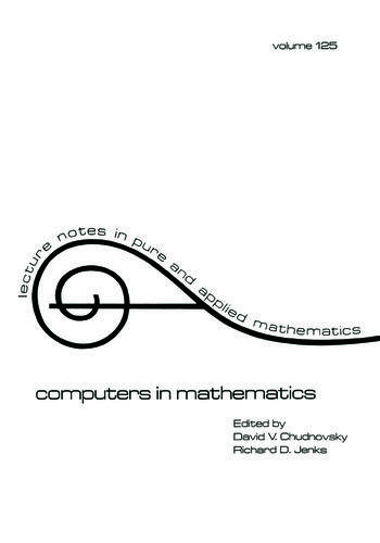 Computers in Mathematics book cover