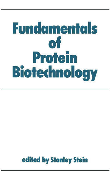 Fundamentals of Protein Biotechnology book cover