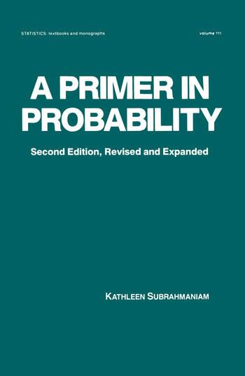 A Primer in Probability book cover