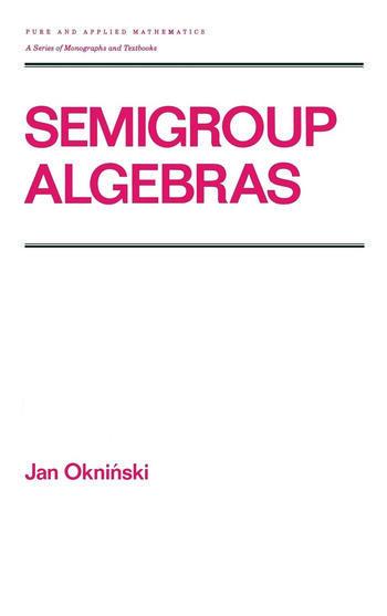 Semigroup Algebras book cover