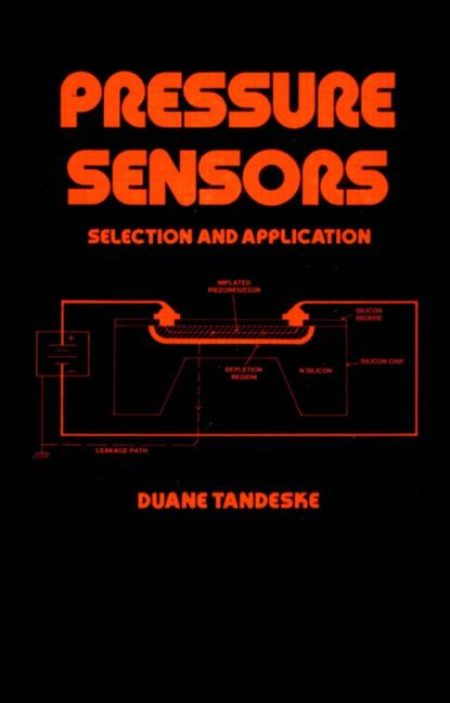 Pressure Sensors Selection and Application book cover