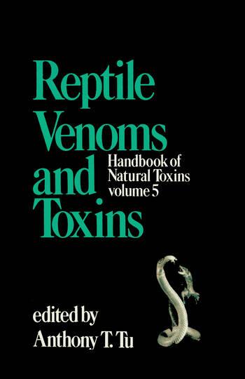 Handbook of Natural Toxins Reptile Venoms and Toxins book cover