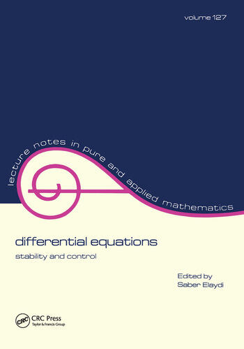 Differential Equations Stability and Control book cover