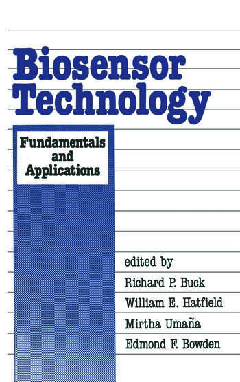 Biosensor Technology Fundamentals and Applications book cover