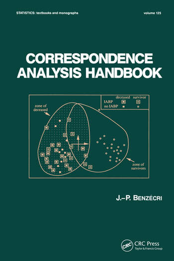 Correspondence Analysis Handbook book cover