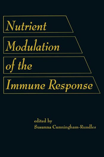 Nutrient Modulation of the Immune Response book cover