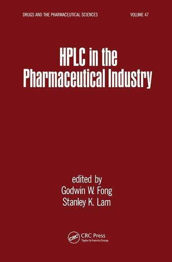 HPLC in the Pharmaceutical Industry book cover