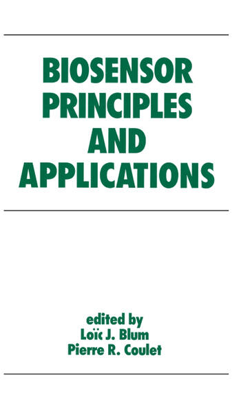 Biosensor Principles and Applications book cover