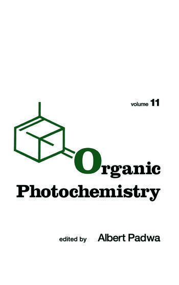 Organic Photochemistry book cover