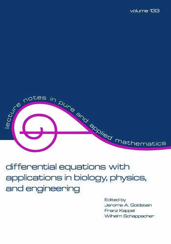 Differential Equations with Applications in Biology, Physics, and Engineering book cover