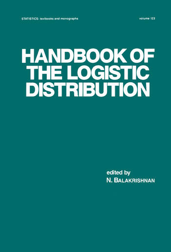 Handbook of the Logistic Distribution book cover