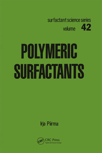 Polymeric Surfactants book cover