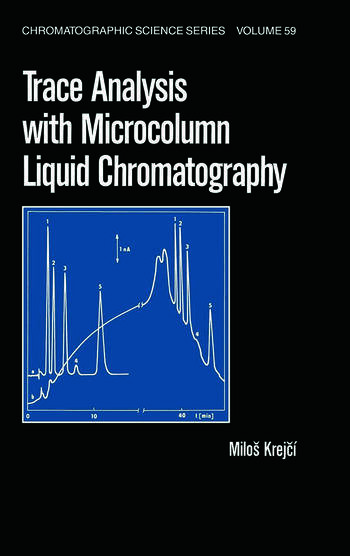 Trace Analysis with Microcolumn Liquid Chromatography book cover