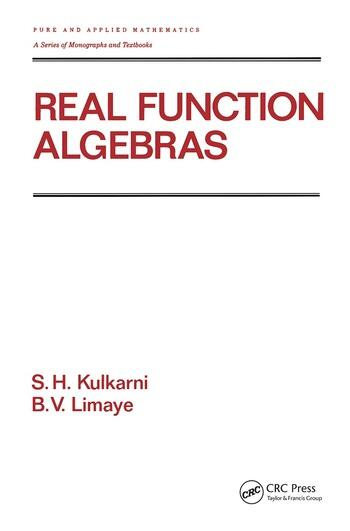 Real Function Algebras book cover