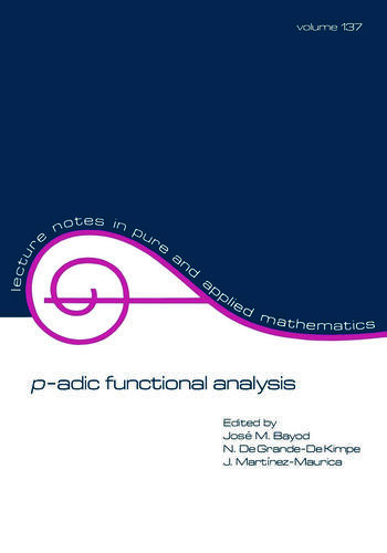p-adic Function Analysis book cover
