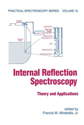 Internal Reflection Spectroscopy Theory and Applications book cover