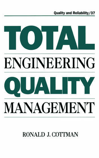 Total Engineering Quality Management book cover