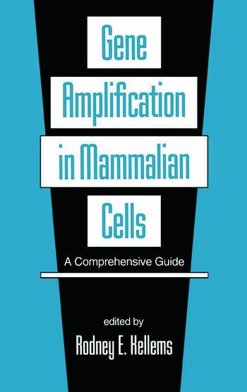 Gene Amplification in Mammalian Cells A Comprehensive Guide book cover