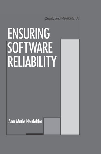Ensuring Software Reliability book cover