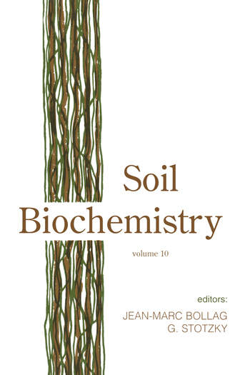 Soil Biochemistry, Volume 10 book cover