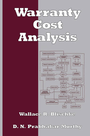 Warranty Cost Analysis book cover