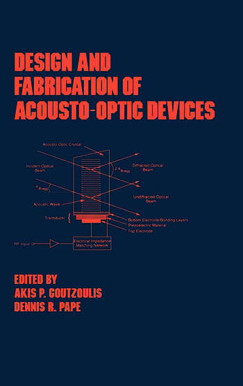 Design and Fabrication of Acousto-Optic Devices book cover
