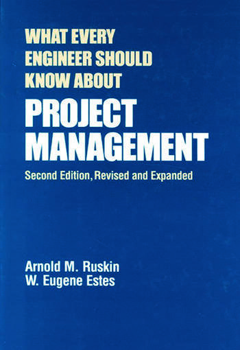 What Every Engineer Should Know About Project Management book cover