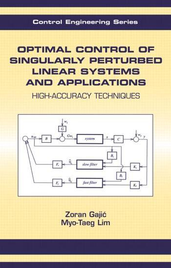 Optimal Control Of Singularly Perturbed Linear Systems And Applications book cover