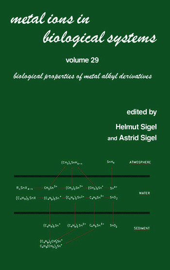 Metal Ions in Biological Systems Volume 29: Biological Properties of Metal Alkyl Derivatives book cover