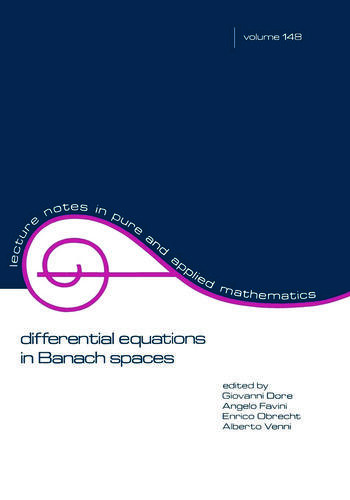 Differential Equations in Banach Spaces book cover