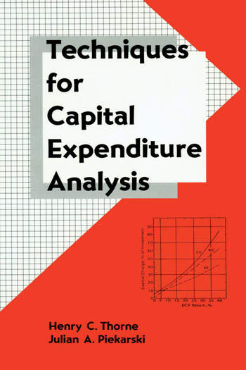 Techniques for Capital Expenditure Analysis book cover
