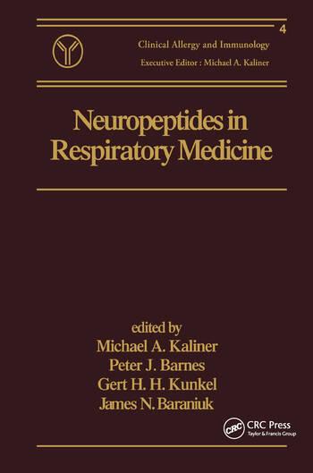 Neuropeptides in Respiratory Medicine book cover