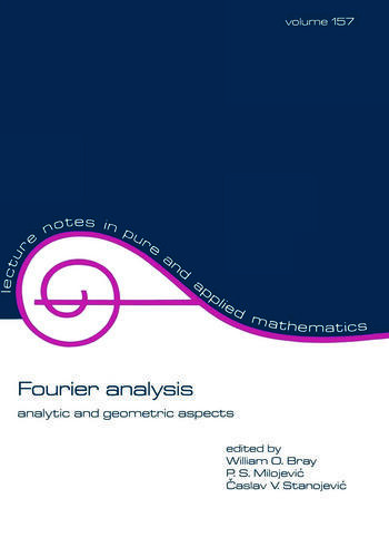 Fourier Analysis Analytic and Geometric Aspects book cover