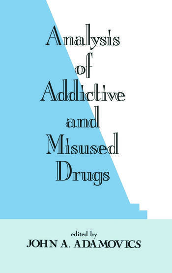 Analysis of Addictive and Misused Drugs book cover