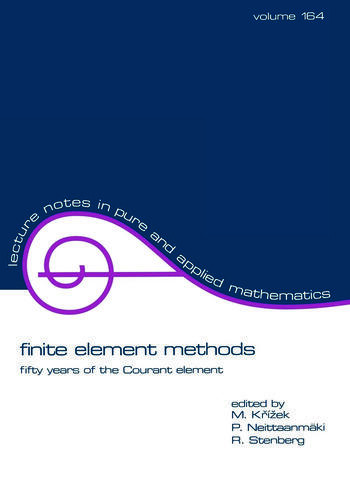 finite element methods fifty years of the Courant element book cover