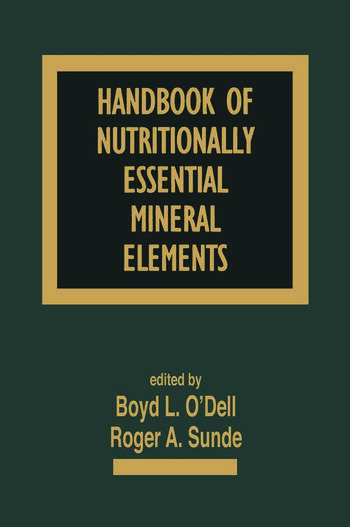 Handbook of Nutritionally Essential Mineral Elements book cover